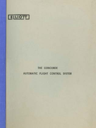The Concorde Automatic Flight Control System