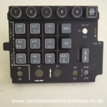 F-16 LANTIRN HUD Illuminated Control Panel