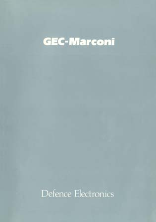 GEC-Marconi - Defence Electronics