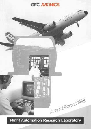 Flight Automation Research Laboratory - Annual Report 1988