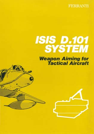 ISIS D-101 System - Weapon Aiming for Tactical Aircraft