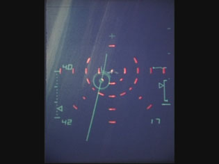 Flight Test of HUD Weapon Aiming Symbology