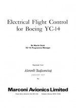 Electrical Flight Control for Boeing YC-14
