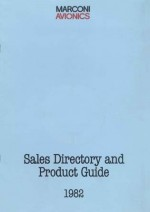 Sales Directory and Product Guide - 1982