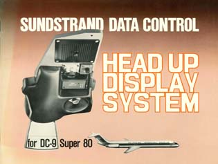 Head Up Display for DC-9 Super 80