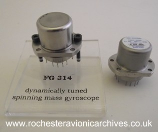 FG314 Dynamically Tuned Spinning Mass Gyro