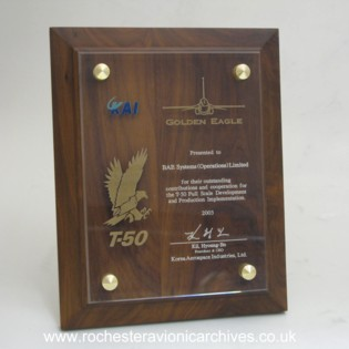 KAI T-50 Golden Eagle Award