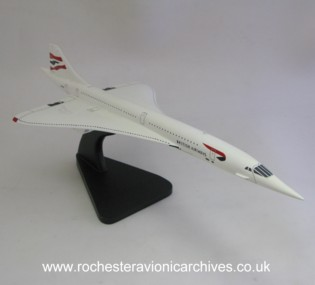 Concorde Model in British Airways livery