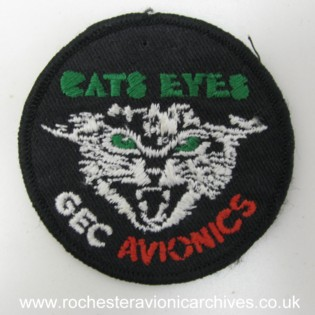 Cats Eyes™ Cloth Badge