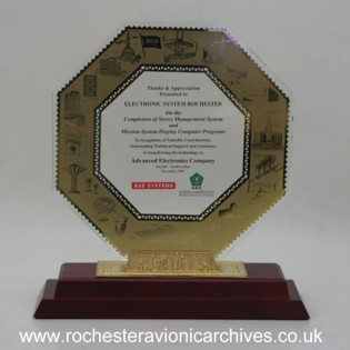Award for Electronic System Rochester