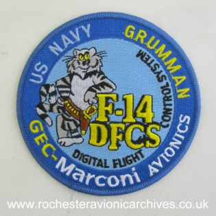 F-14 DFCS Cloth Badge