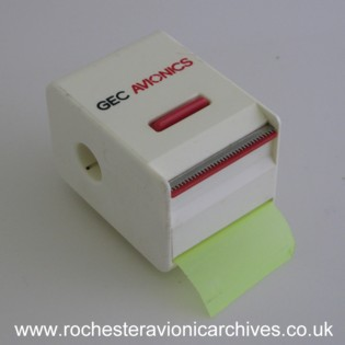 GEC Avionics Tape Dispenser
