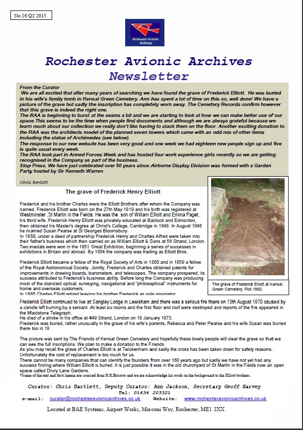 RAA Newsletter 16