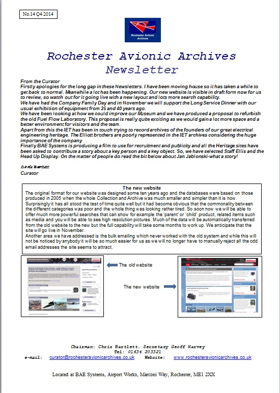 RAA Newsletter 14